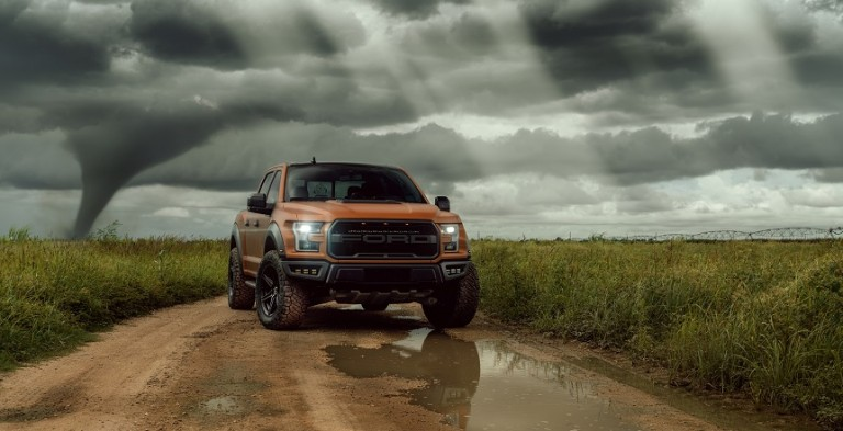 Vossen Orange Storm Chasing Raptor 1r