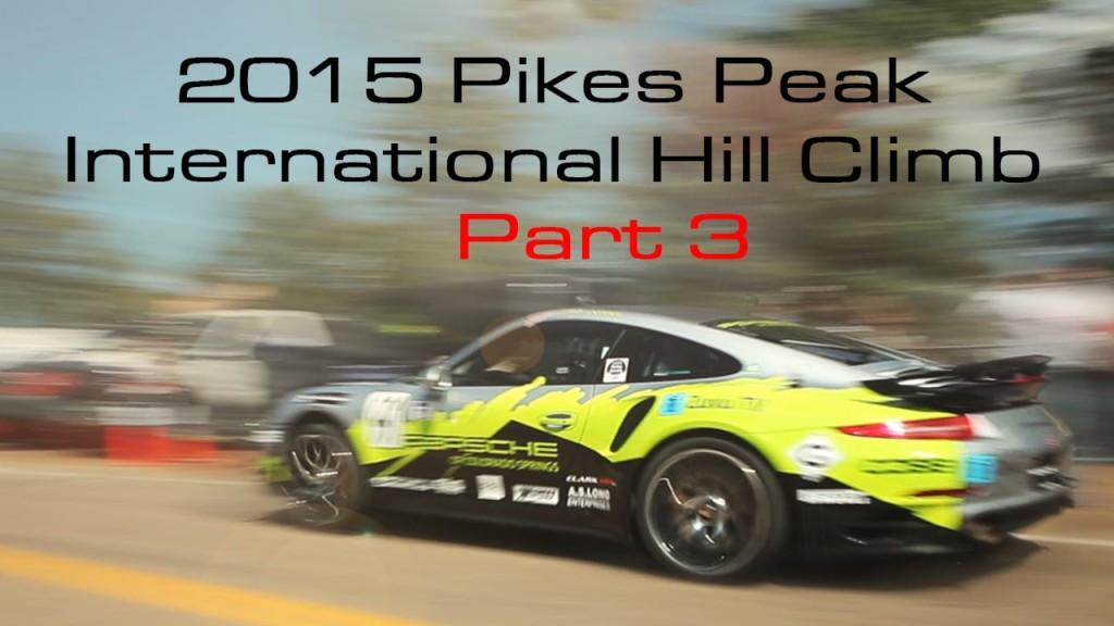 Pikes Peak Hill Climb Part 3 – Race Day