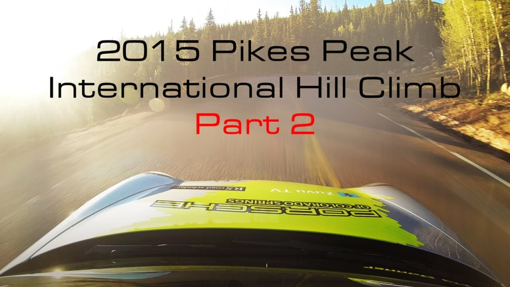 Porsche 991 Turbo Accessport Development & Pikes Peak Hill Climb Testing Part 2