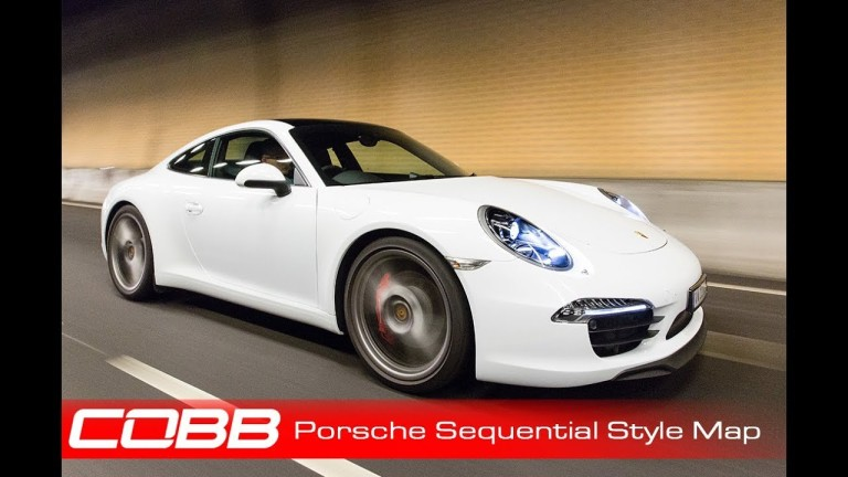 Porsche PDK Tuning Update : COBB Sequential Sytle PDK Map